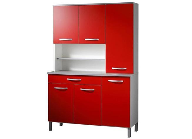 Muebles De Cocina Alacena Roja Chrank