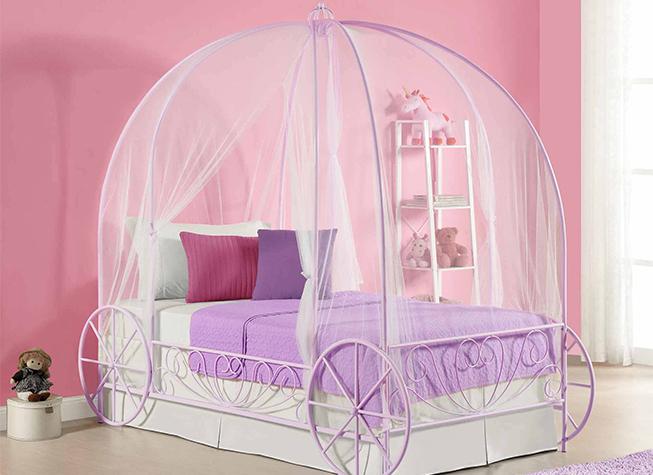 Camas para ni a cama para princesas kalay - Cama nina princesa ...